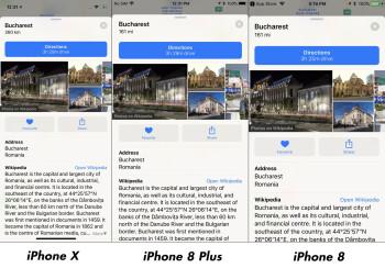 Apple Maps comparison #2