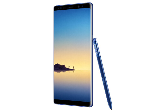 Samsung Galaxy Note 8 in Deepsea Blue