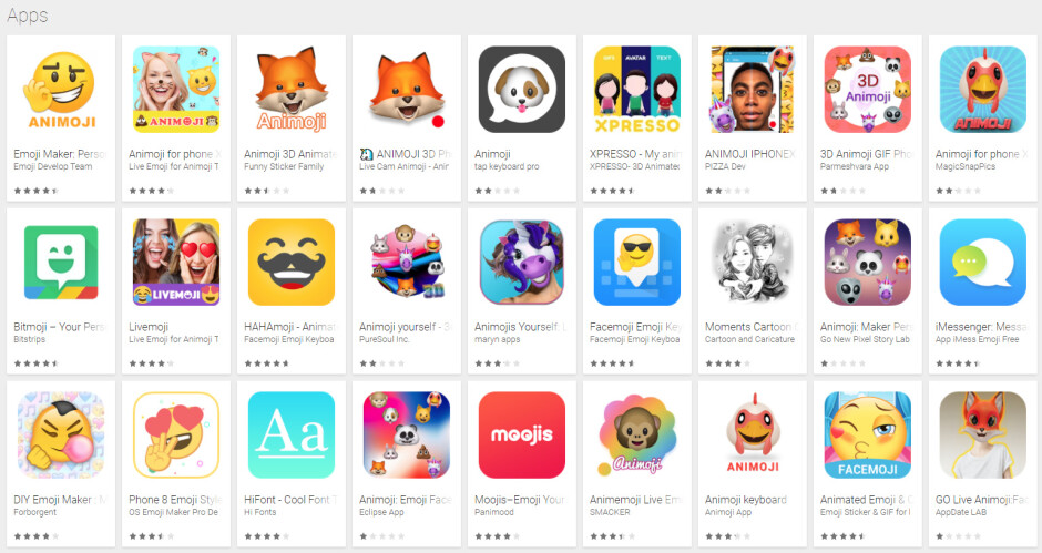 Animoji apps on Android are a fraud - Animoji apps for Android? They are all a fraud