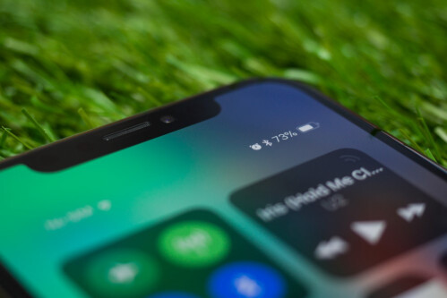 Battery life is better than iPhone 8, not quite as good as on the Plus