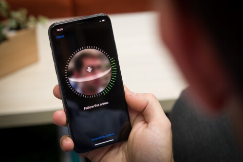 Face ID works most of the time, not all of the time