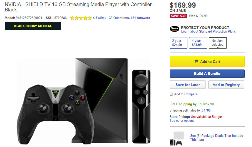 Deal: NVIDIA Shield TV with game controller drops to $170 at