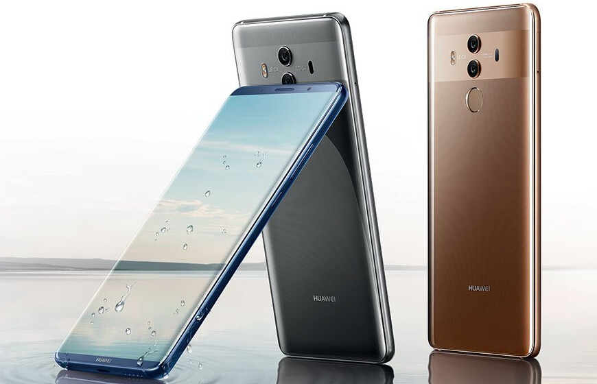 Huawei Mate 10 Pro Will Be Available In The US Through AT&T