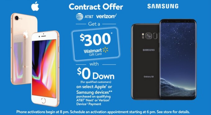 lowest price cbd00 cf9fb Walmart's Black Friday 2017 deals give a $300 discount on a Verizon ...