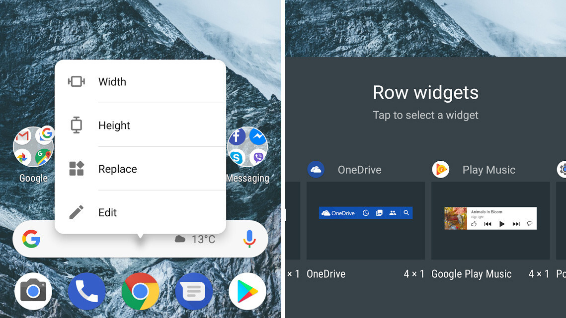 Nova Launcher Widgets