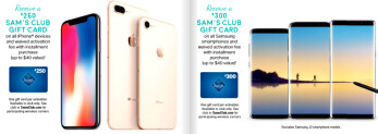 Sam's Club one-day deal is the best price offer on an iPhone X or Galaxy S8 you can get now