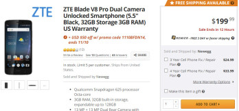 Deal: Unlocked ZTE Blade V8 Pro with dual-camera on sale for just $150