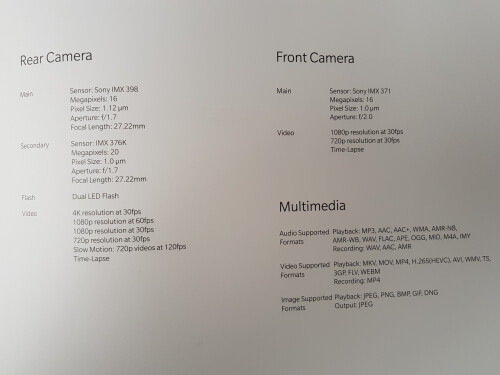 OnePlus 5T hands-on photos and full specs leak out