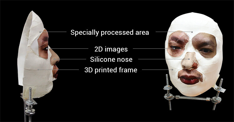 Security firm Bkav claims that this mask can defeat Face ID - Security firm beats Face ID with a mask