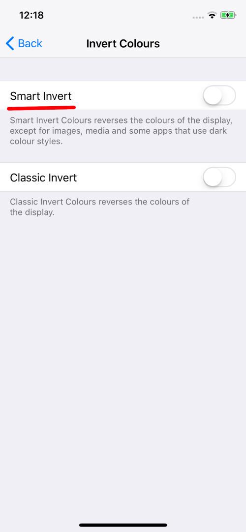 Ihr iPhone X verfügt über einen dunklen Interface-Modus, der Ihnen Akkustrom erspart. Hier erfahren Sie, wie Sie es aktivieren.