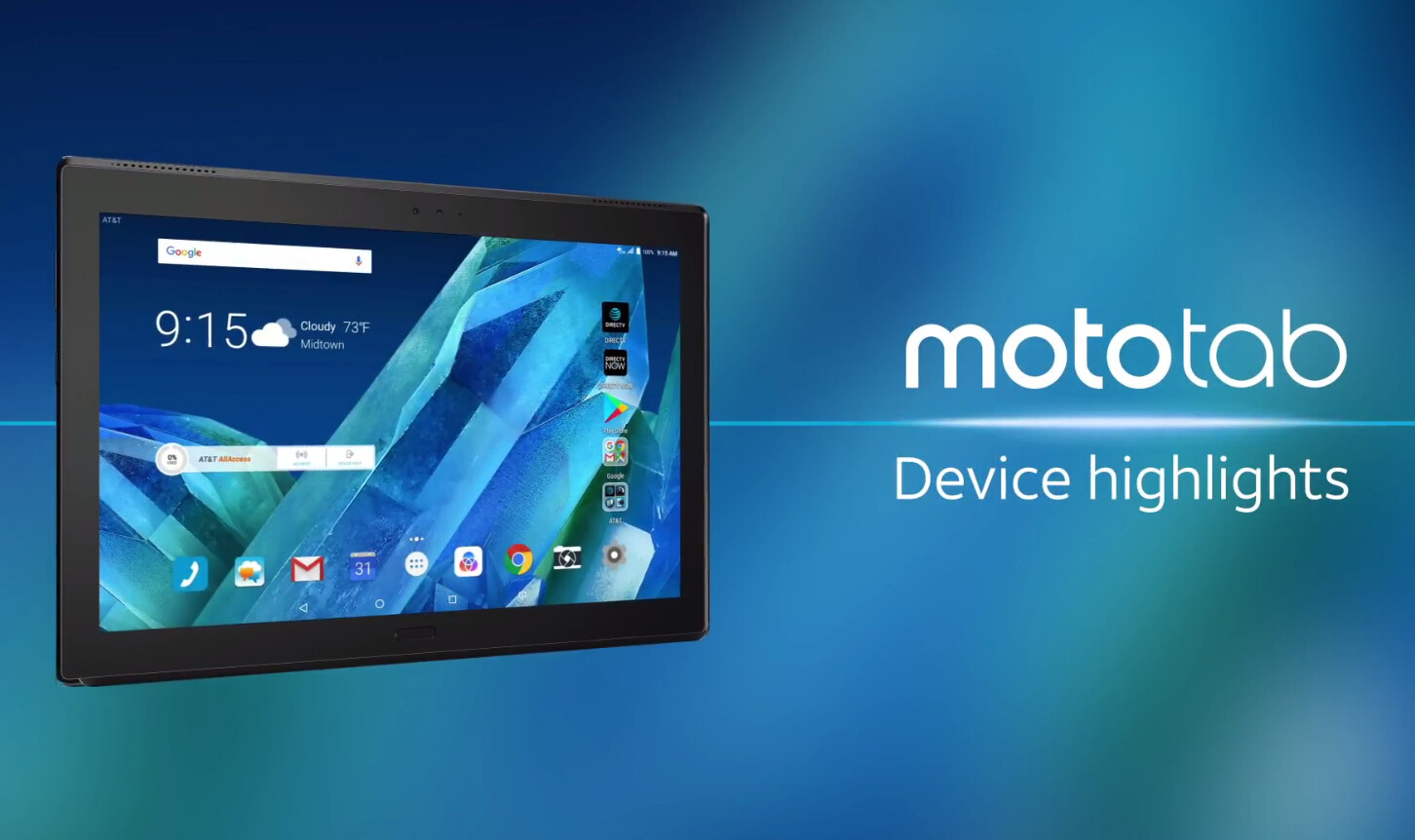 Moto Tab launches with 10.1-inch display and snapdragon 625 chipset.www.techxpertbangla.com