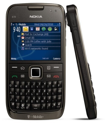 More S60 love coming as the Nokia E73 Mode is set for a June 16 launch with T-Mobile