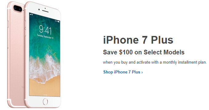 Save 100 On The Iphone 7 Plus At Best Buy At T Verizon Sprint Phonearena