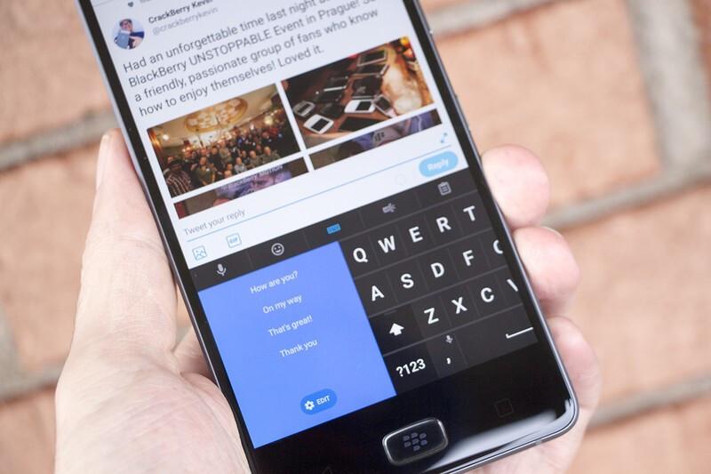 SlideBoard feature comes to BlackBerry Keyboard beta app in