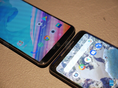 OnePlus 5T vs Google Pixel 2 XL first look
