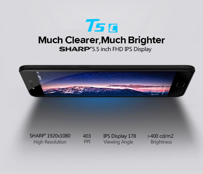 Leagoo T5c available for pre-sale now; comes with Intel X86 Airmont-based chipset