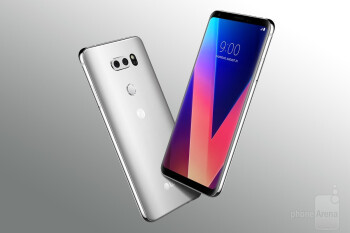 LG V30 is one of many recent flagships to come with a 2 to 1 screen aspect ratio.