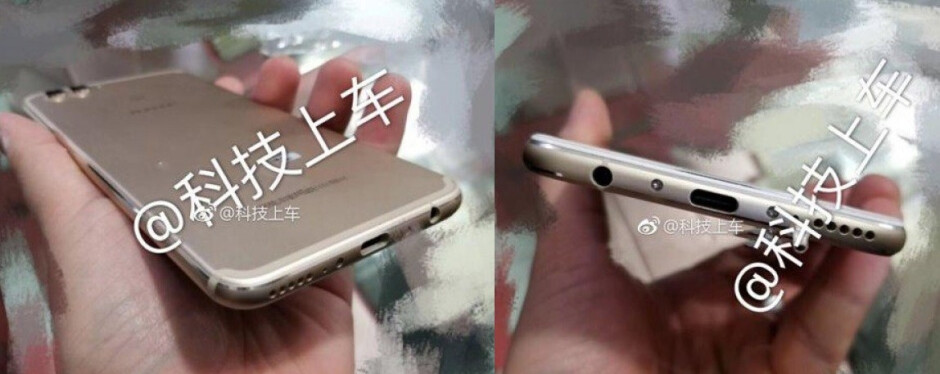 Alleged Huawei Nova 3 shows its iPhonesque silhouette in leaked pictures