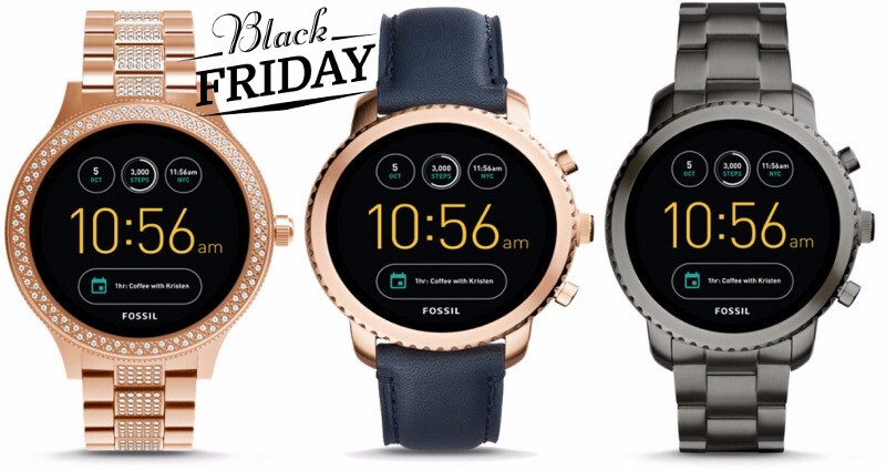 Deal: Fossil Q (3rd Gen) smartwatches with Android Wear 2 ...