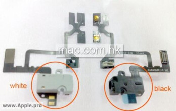Leaked photo shows audio jacks for next-gen iPhone?