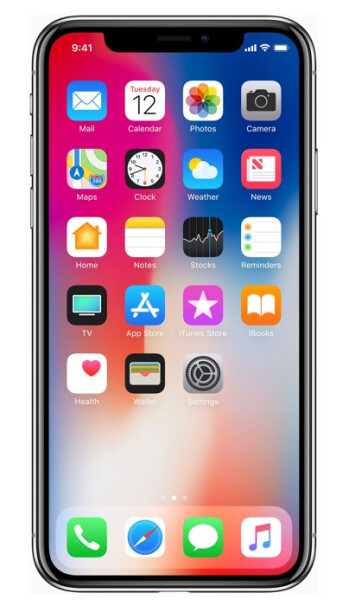 The iPhone X is Apple's first handset with an extra-tall display.