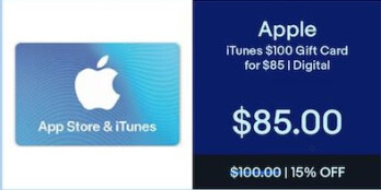 Best deals on iTunes gift cards for Black Friday - PhoneArena