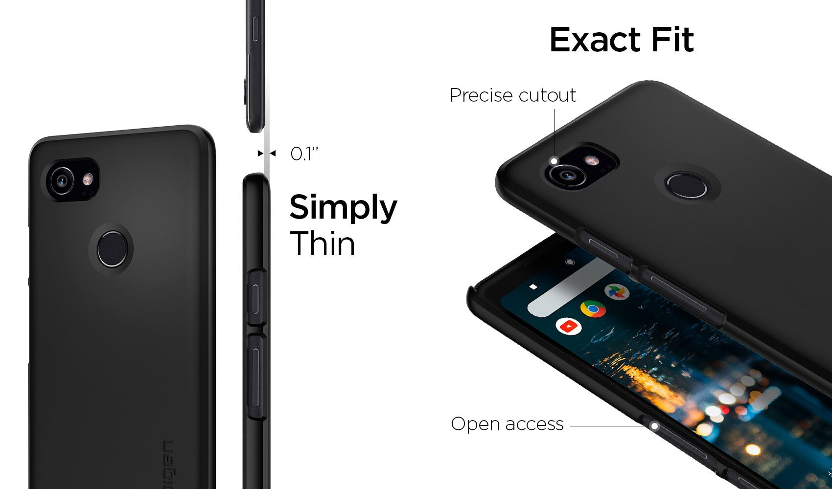 brand new 239e7 54dc3 The best thin cases for the Google Pixel 2 XL - PhoneArena