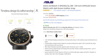 Deal: You can now get the Asus ZenWatch 3 $50 cheaper on Amazon