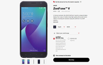 Asus ZenFone V is available for free at Verizon, but only for 2 days