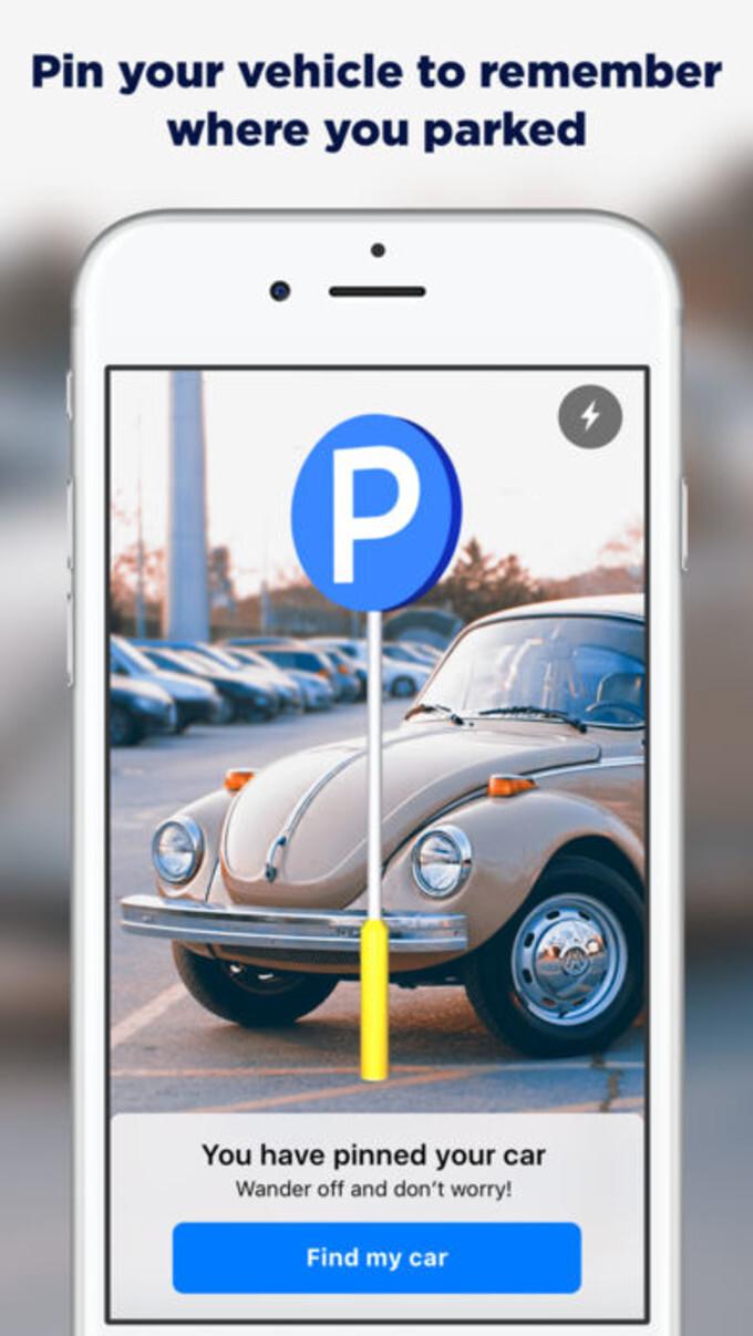geparktes auto finden