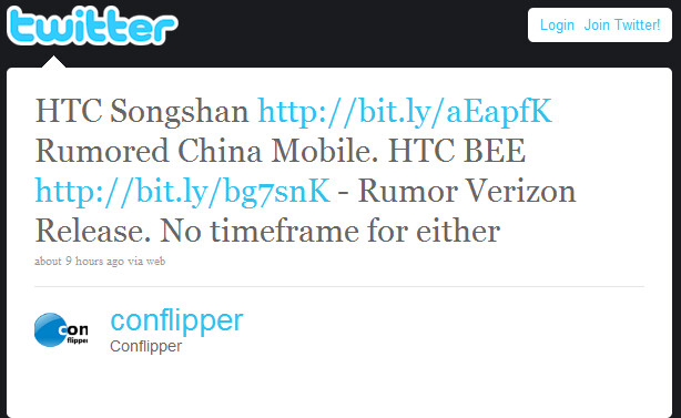 HTC Aria changes its tune to the HTC Liberty; Verizon to get the HTC Bee?