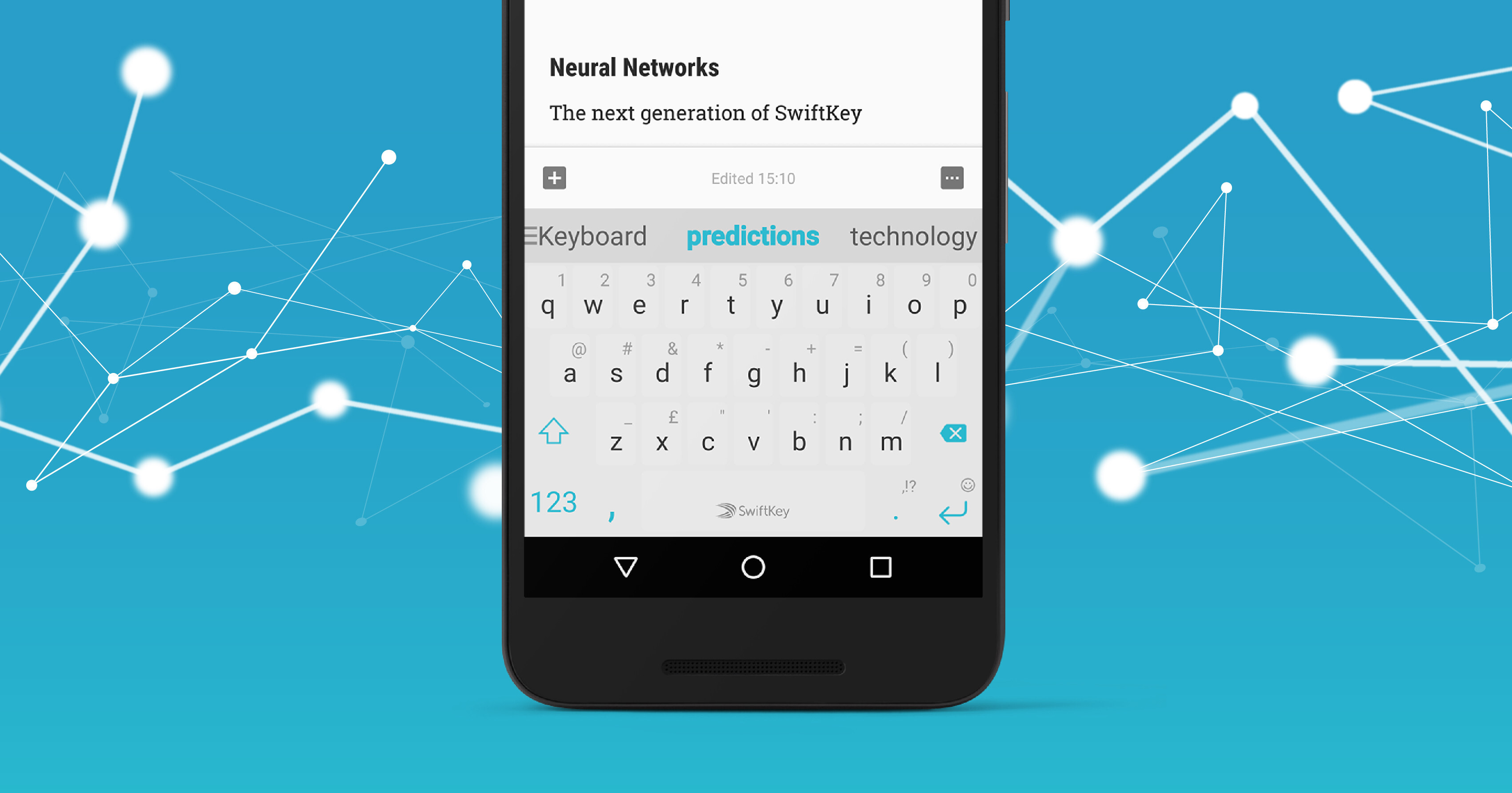 4b68e5ae350 SwiftKey keyboard app gets Outlook email predictions on Android, lots of  new languages