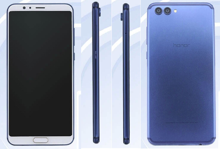 Honor V10 official pictures show the bezel-less smartphone from all angles