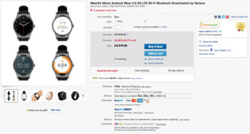 Deal: LTE-ready Verizon Wear24 smartwatch with Android Wear 2.0 is now 77  off, grab one for $79.99