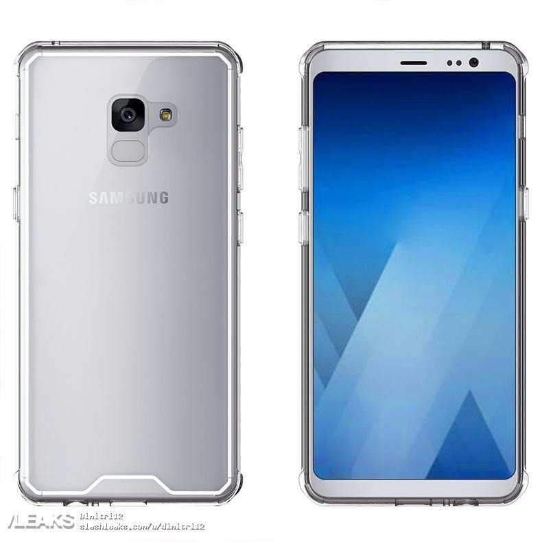 cheap for discount 02ba7 fd4f1 New Samsung Galaxy A5 and A7 (2018) case renders leave little to the ...
