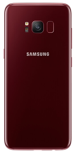 Samsung Galaxy S8 is now available in flashy Burgundy Red