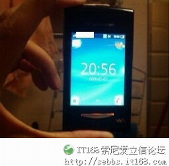 """Sony Ericssion W150i """"TeaCake"""" is the Walkman branded Android phone?"""