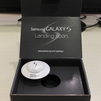 Samsung Galaxy S promotional material clearly hint to a US launch
