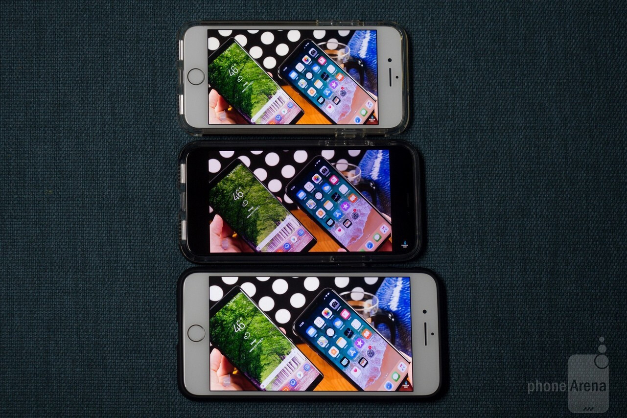 Default iPhone X video mode