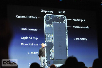 iPhone 4 will deliver 40% longer talk time thanks to larger battery and power-friendly A4 chip