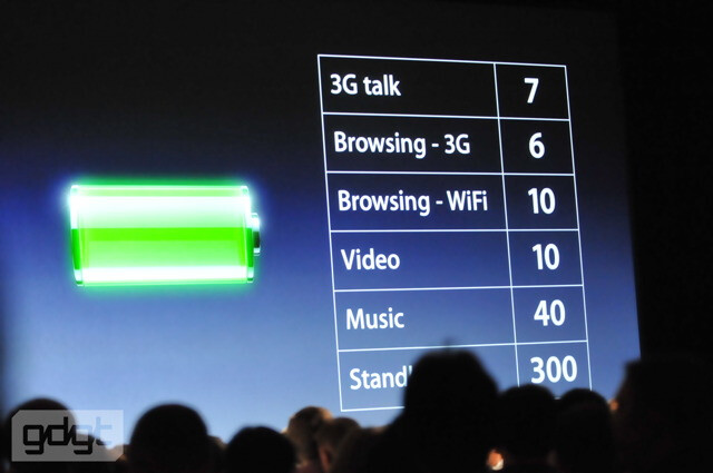 iPhone 4 will deliver 40% longer talk time thanks to larger battery and power-friendly A4 chip - Meet the Apple iPhone 4