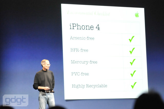 Eco-friendly design - Meet the Apple iPhone 4