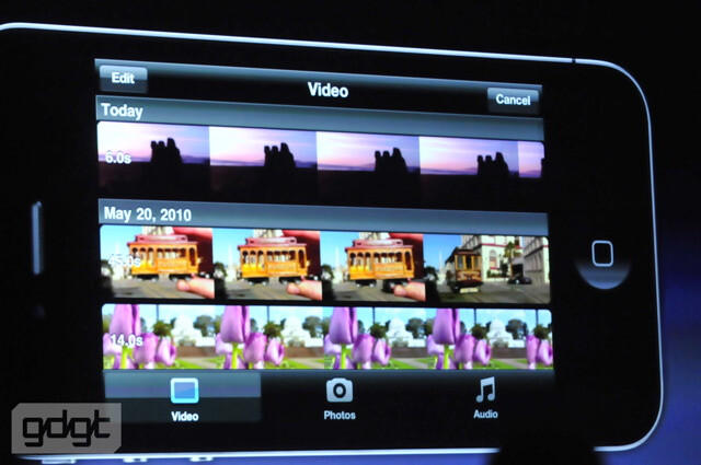 iMovie for iPhone - Meet the Apple iPhone 4