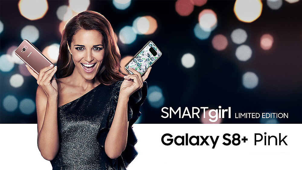 Samsung Galaxy S8 Plus Swarovski SMARTgirl Limited Edition Launched In Spain