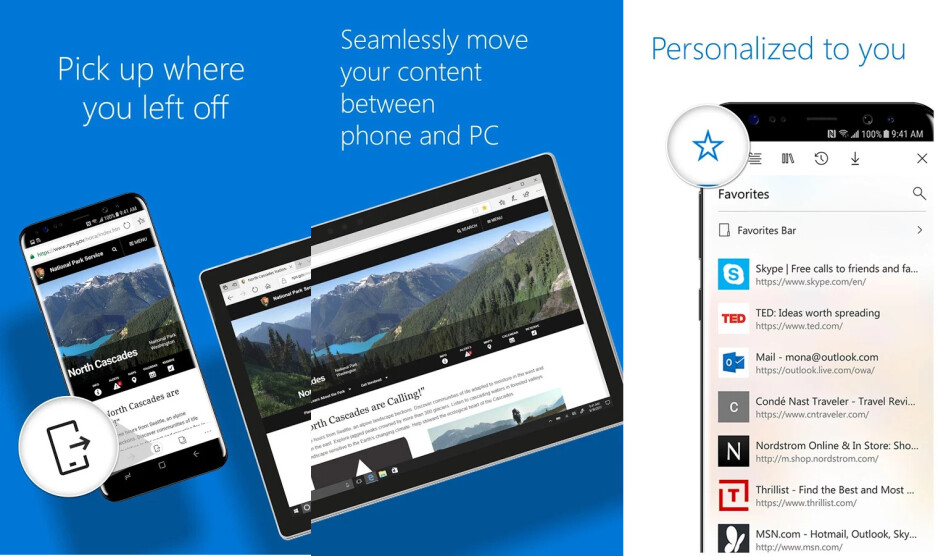 Microsoft Edge for Android exits beta, stable version released in the Google Play Store