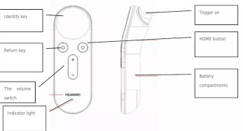 Huawei's Daydream VR headset very close to unveiling, here are some pictures of its controller