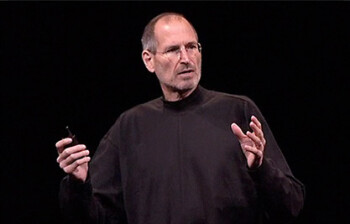 Steve Jobs at iPhone 4 unveiling