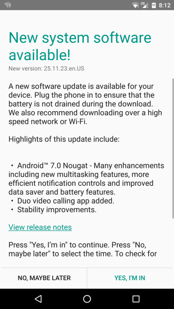 Motorola resumes roll-out of Android 7.0 Nougat for Moto X Pure Edition in the US