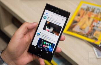 The Sony Xperia XZ1 is a pretty good phone, but its design is certainly old school