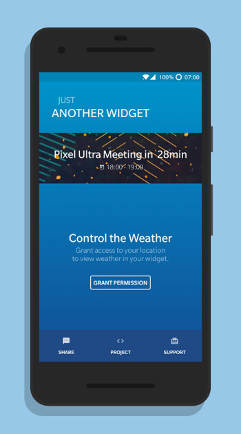 Another Widget's sleek and intuitive interface in action
